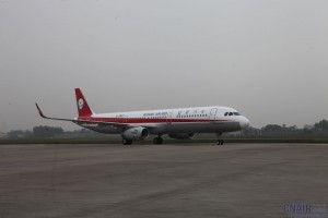 川航迎来国内首架装配鲨鳍小翼的空客A321飞机