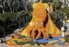 巨大乌贼雕像