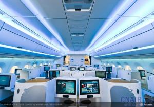 空客中国总裁陈菊明:空客和中国一起创造最先进的A350飞机